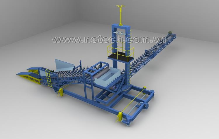 Băng tải cầu cảng v